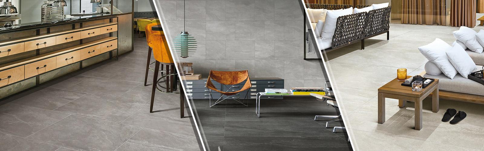 3 Styles Tile Flooring