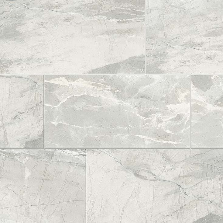 Absolute White Stone Look Tile