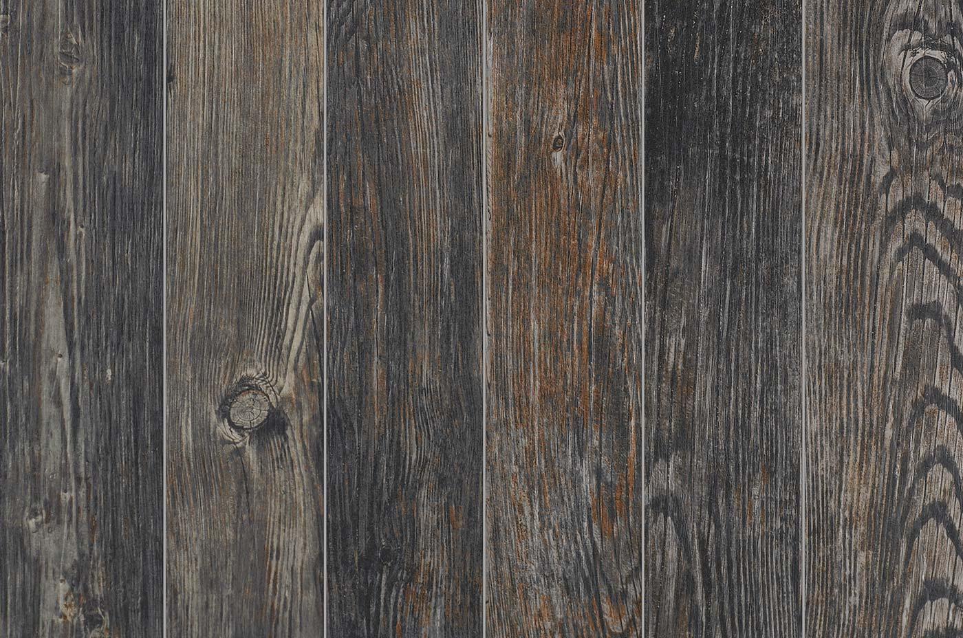 Forest Black Wood Look Tile