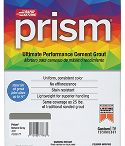 Custom Prism Ultimate Performance Grout