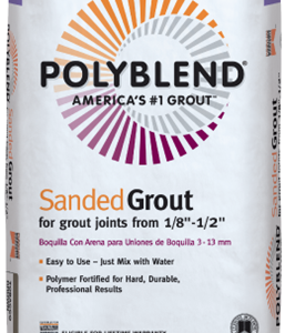 Custom Polyblend Sanded Grout