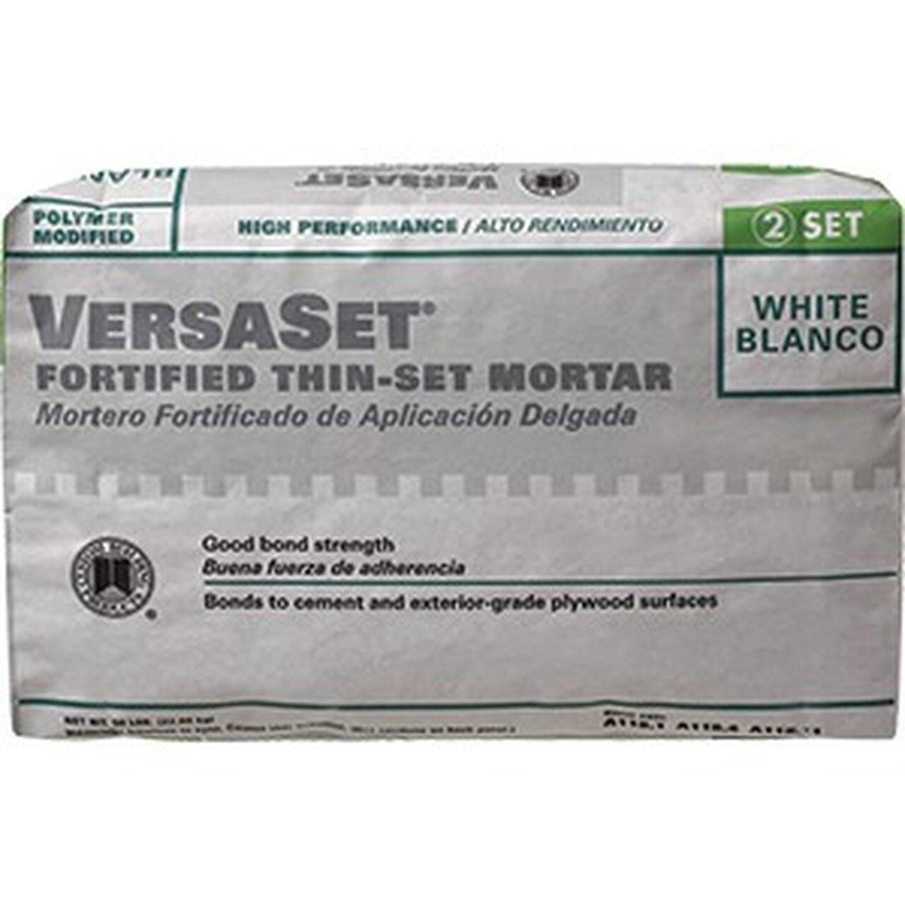 Versaset Thin-Set White