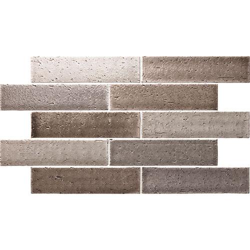 Cambridge Grey Mix Brick Look Tile